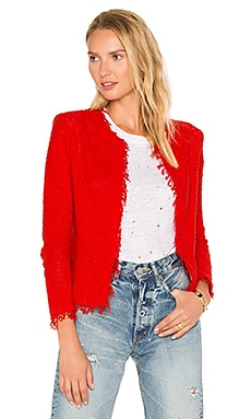 Shavani Jacket in Rot
