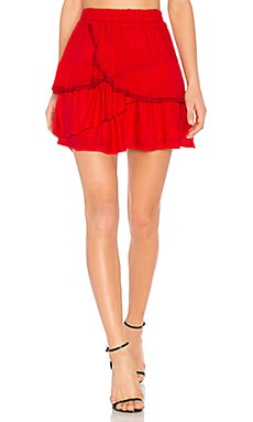 Carmela Skirt in Red