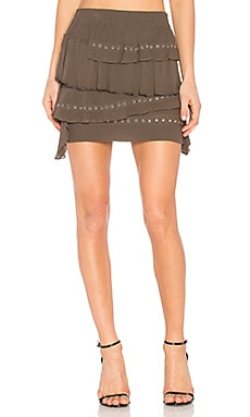 Shelan Skirt in Khaki