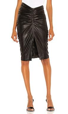 JinJai Leather Skirt IRO $995 BEST SELLER
