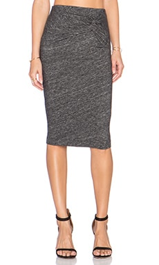 IRO Lousa Skirt in Dark Grey