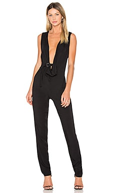 x ANJA RUBIK Tanama Jumpsuit in Black