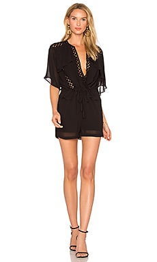 Geda Romper in Black