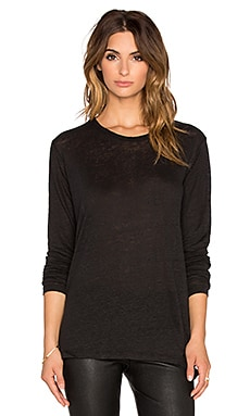 IRO Lockley Top in Black