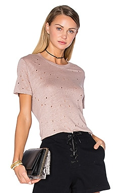 IRO Clay Tee in Peach