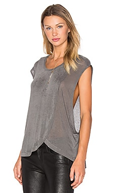 IRO Dalila Top in Steel Grey