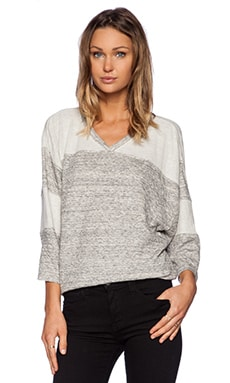 IRO Giless Top in Mixed Grey