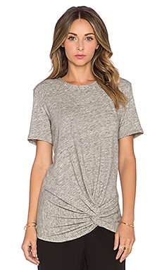IRO Laura Top in Light Grey