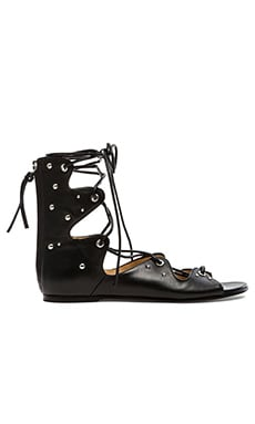 IRO Xiri Sandal in Black