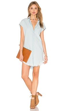 IRO . JEANS Lanie Button Down Dress in Light Blue