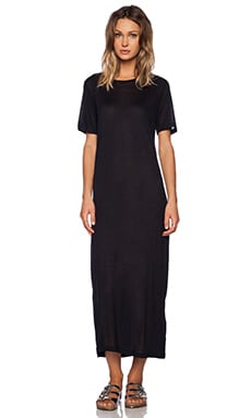 IRO . JEANS Genilly Maxi Dress in Black