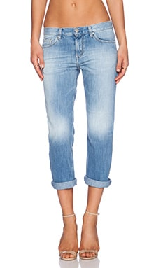 IRO . JEANS Nalyn Boyfriend in Light Used
