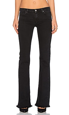 IRO . JEANS Freddy Flare in Black Stone