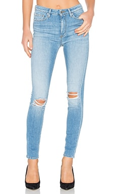 Pamela Distressed Skinny in Light Blue