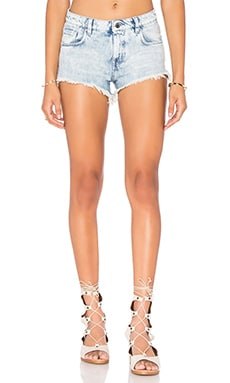 IRO . JEANS Sanchez Cut Off Short in Snow Bleach