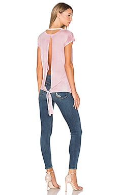 IRO . JEANS Onnys Tie Back Tee in Pink