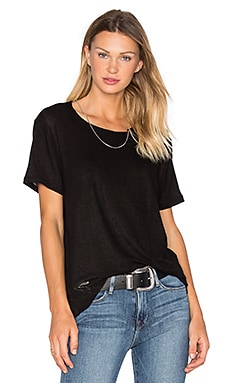 Rikke Chain Tee in Black