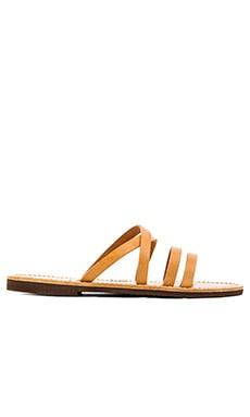 isapera Mersyni Sandal in Natural