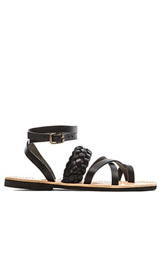 isapera Lemonia Sandal in Black