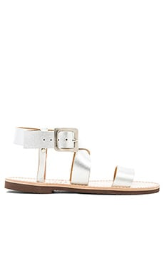 isapera St. John Sandal in Silver