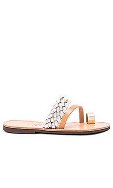 Rosemarine Sandal in Metallic