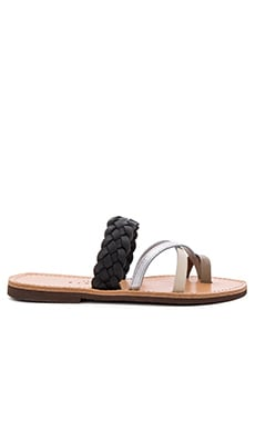 Ftelia Sandal in Taupe