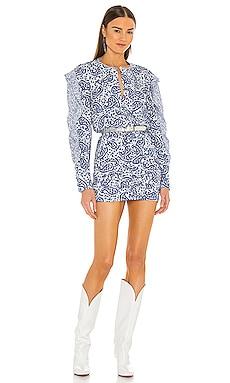 Lexini Mini Dress Isabel Marant Etoile $535