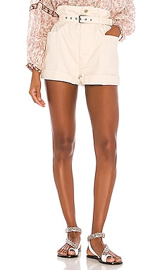 SHORT TAILLE HAUTE RIKE Isabel Marant Etoile $370 Collections