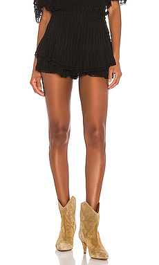 SHORT TAILLE HAUTE JANIS Isabel Marant Etoile $400 Collections