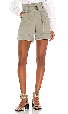 SHORT TAILLE HAUTE ZAYNA Isabel Marant Etoile $395 Collections