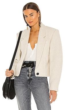 Maden Cropped Blazer Isabel Marant Etoile $625