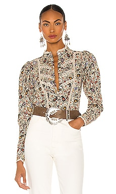 Reafi Blouse Isabel Marant Etoile $520 Collections