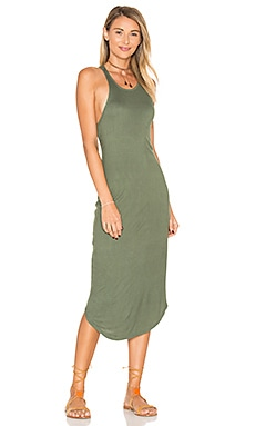 Kirra Ribbed Dress in Mauka
