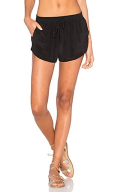 Issa de' mar Byron Walk Short in Black