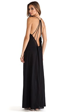 St. Bart's Maxi Dress in Black