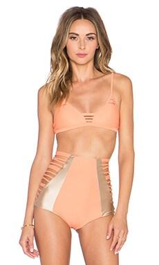 Issa de' mar Hono Bikini Top in Papaya
