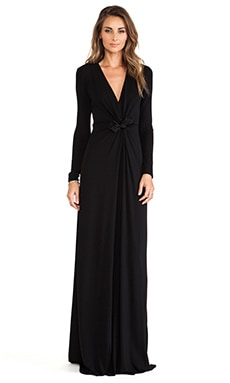 Issa Cilla Maxi Dress in Black