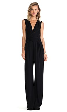 Issa Rene Jumpsuit in Black