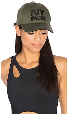 Baseball Cap in Khaki with Black Logo