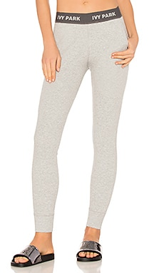 LEGGINGS CHINÉ FORME LOOSE RIB