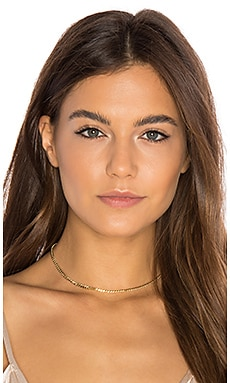Flat Chain Choker en Or