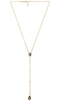 Jacquie Aiche Opal Necklace in Gold
