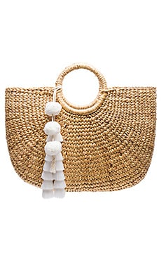 Large Basket Tote JADEtribe $198