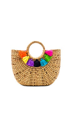 Basket Small 7 Tassel JADEtribe $80