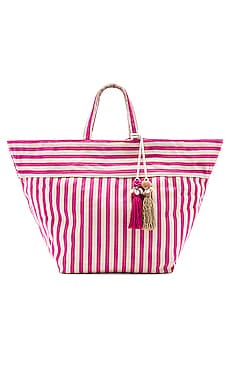 Valerie Large Beach Bag Puka JADEtribe $187 NEW ARRIVAL