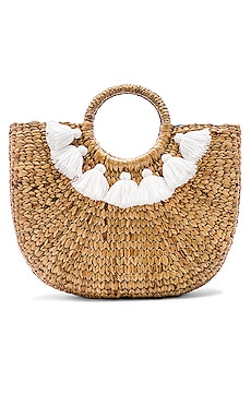 Small 7 Tassel Basket JADEtribe $176 NEW ARRIVAL