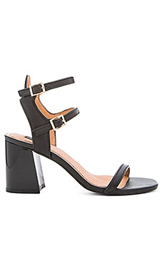 JAGGAR Interaction Block Sandal in Black