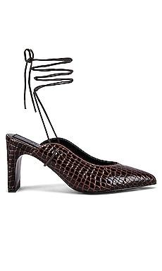 Laced Croc Heel JAGGAR $93