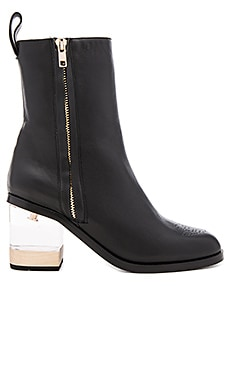 JAGGAR Illuminate Black Bootie in Black