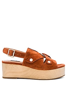 Dynamics Platform Sandal in Tobacco